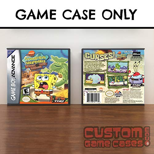 Gameboy Advance SpongeBob SquarePants: Revenge of the Flying Dutchman - Case