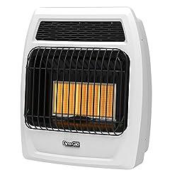 Dyna-Glo IRSS18LPT-2P 18000 BTU LP Infrared Vent Free T-stat Wall Heater