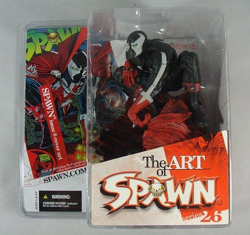 Spawn The Art of Spawn:series 26 Issue 8 Cover Art by (Toy 1 Spawn Mcfarlane Series)