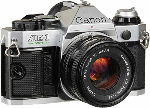 Canon AE-1 Program 35mm Single-Lens Reflex Camera(Body Only)
