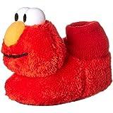 Sesame Street ELMO Red Toddler Sock Top Slippers Size 9/10