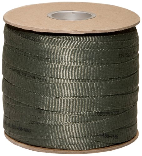 DeepRoot Arbortie Staking and Guying Material, 500-Feet Roll, Olive