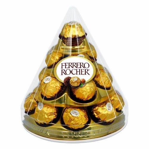 Ferrero Rocher Cone, 17 Count