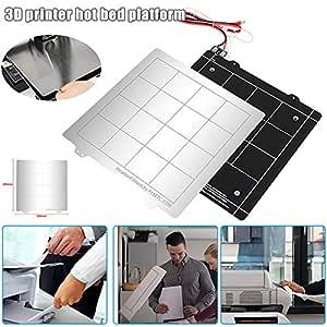 Msleep - Kit de Placa de Hierro para Impresora 3D (24 V): Amazon ...