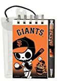 "National Design TokiDoki San Francisco Giants Deluxe Hardcover with 3 x 5"" Flipbook and Pen Set"