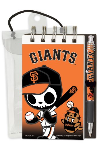 National Design TokiDoki San Francisco Giants Deluxe Hardcover with 3 x 5