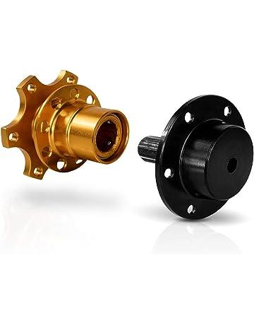 Gold FireAngels Universal-Lenkrad-Schnellverschluss-Schnellkupplungsadapter mit 6-Loch-Lenkradnabe