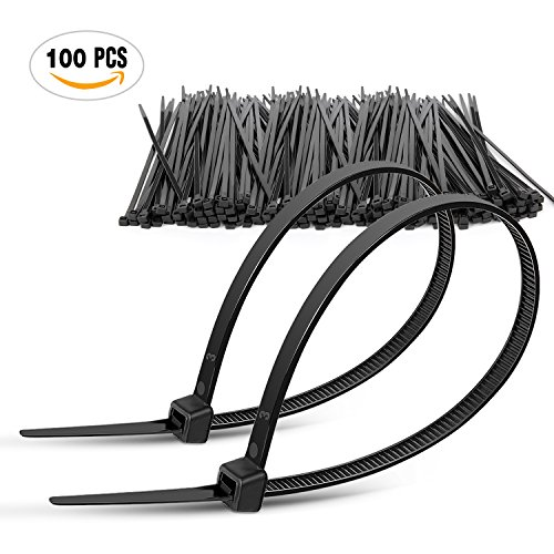 DTOL Plastic Cable 100 Pack Black product image