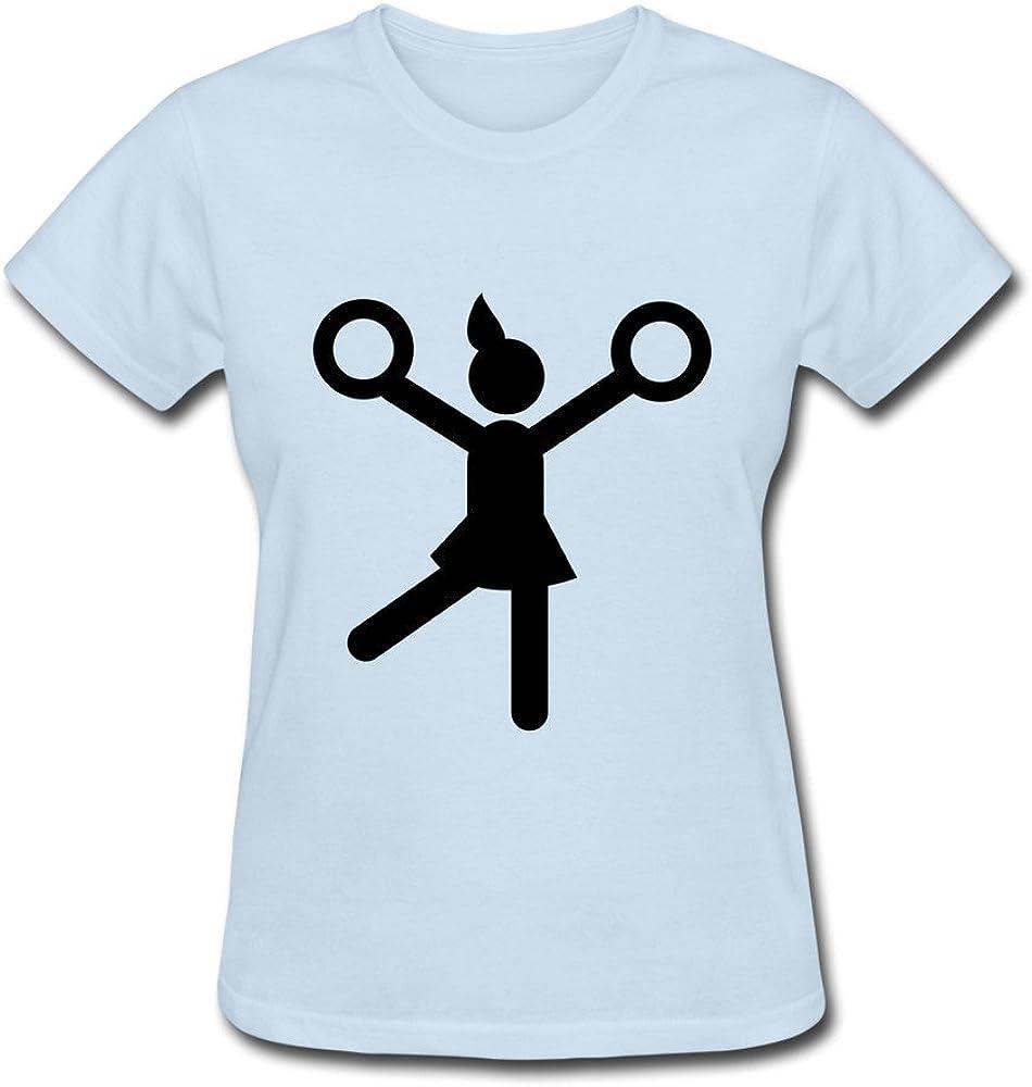 Animadora de manga corta 100% algodón T camisa para Lady última cuello redondo T Shirt: Amazon.es: Libros