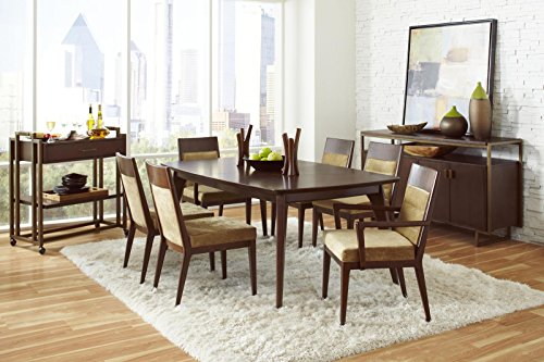 Pulaski Modern Harmony Casual Dining Room Set with Dining Table, 4 x Side Chair and 2 x Arm Chair