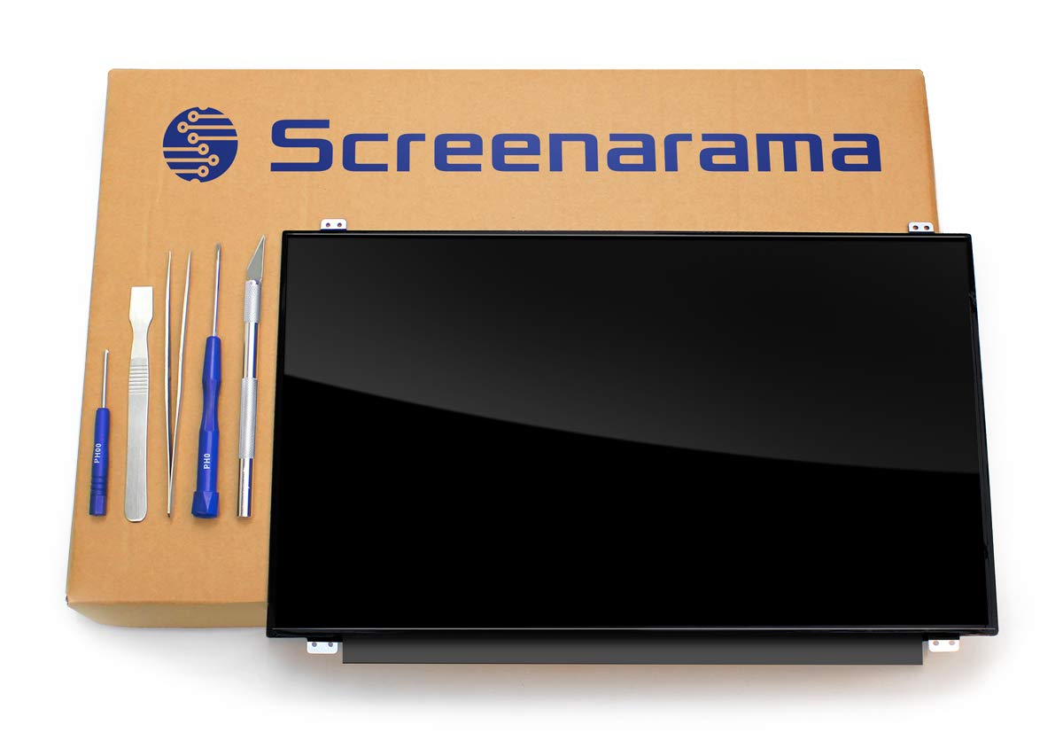 SCREENARAMA New Screen Replacement for N140HCE-EAA, FHD 1920x1080, IPS, Glossy, LCD LED Display with Tools