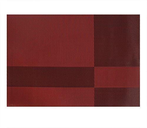 Deconovo pvc placemats heat resistant placemats washable table mats placemats for table splice - Heat resistant table cloth ...