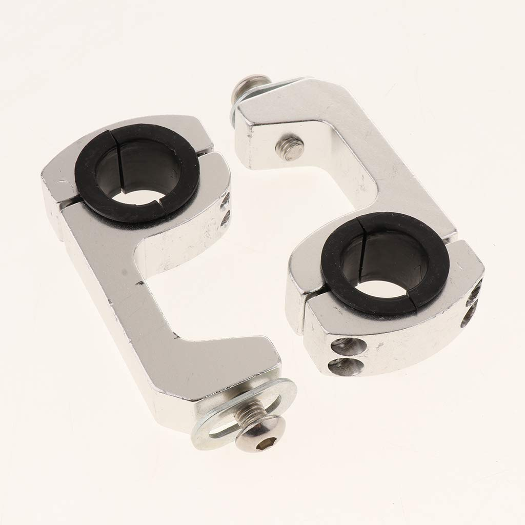 1inch 28mm for Motorcycle Dirt Bike ATV B Blesiya Universal Handle Fat Bar Mount Clamps Riser Handle Bar 7//8inch 22mm