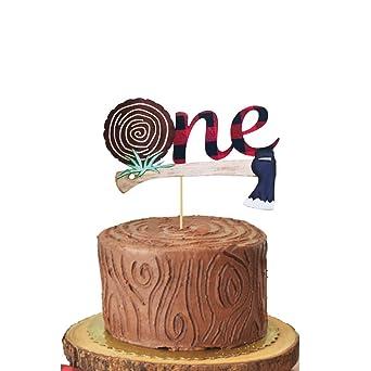 HEETON Lumberjack - Decoración para tarta de primer ...