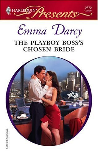 book cover of The Playboy Boss\'s Chosen Bride