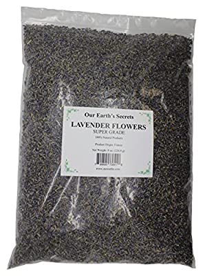 Our Earth's Secrets Lavender Flowers - 1/2 Pound - Super Grade