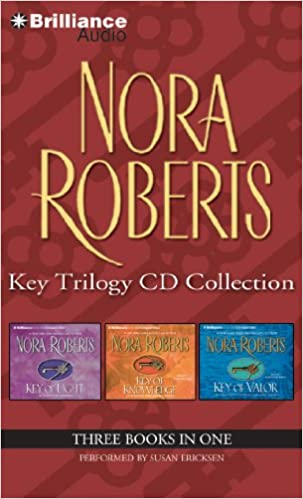 :TOP: Nora Roberts Key Trilogy CD Collection: Key Of Light, Key Of Knowledge, Key Of Valor. precios Assembly costo Madrid Negocios