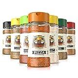 Flavor God Seasonings - Startup Chef Spice Rack - 7 Seasoning Combo pack (Gluten Free, GMO Free, MSG Free, Low Sodium, Paleo Friendly)
