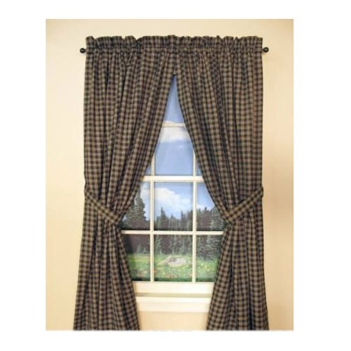 Primitive Design (Park Designs Sturbridge Unlined Panel Pair 63-Inch (length) Null)