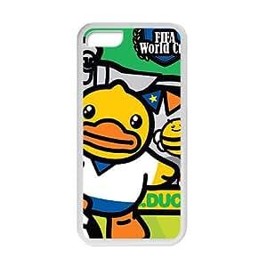 meilz aiaiQQQO Fifa World Cup Lovely B.Duck fashion cell phone case for iPhone 5Cmeilz aiai