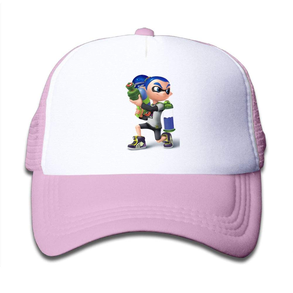 Splatoon Game Lnkling Boy Boys & Girls Mesh Hat Fashion Child Mesh Hat One Size