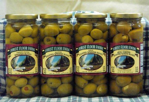 (Gourmet Stuffed Olives Sampler)