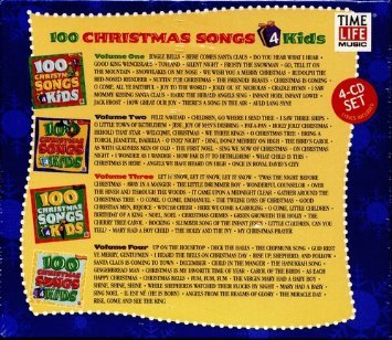 100 christmas songs 4 kids volumes 1 2 3 and 4 - Christmas Songs For Kids