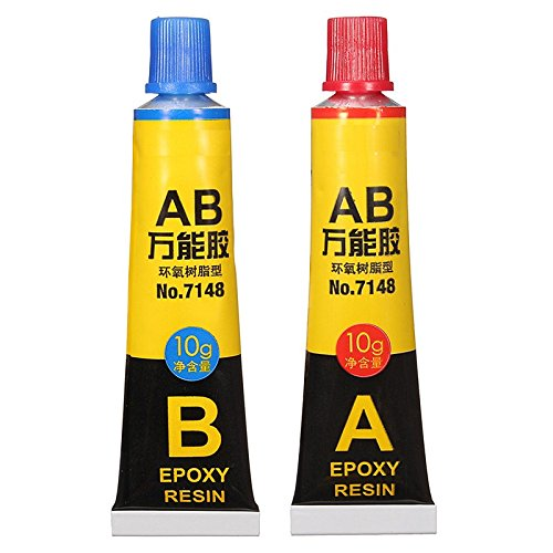 2 pcs/set Epoxy Resin Contact Adhesive Super Glue For Glass Metal Ceramic Stationery Office Material 6703 Easy To Use
