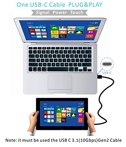 15 6 Quot Usb Portable Multi Touch Monitor For Laptop