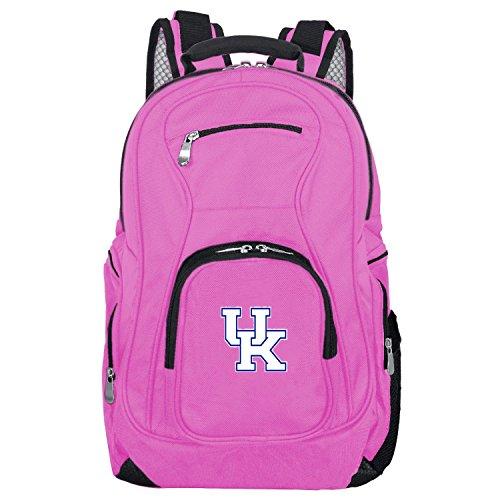 Denco NCAA Kentucky Wildcats Voyager Laptop Backpack, 19-inches, Pink (Laptop Wildcats Bag Kentucky Ncaa)