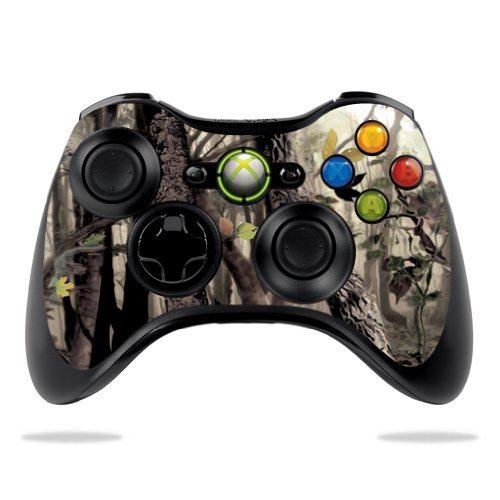 Protective Vinyl Skin Decal Cover for Microsoft Xbox 360 Controller wrap sticker skins Tree Camo