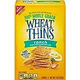 Wheat Thins Crackers, Whole Grain, Ranch, 9 ounces