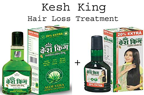20 PACK KESH KING Herbal HAIR LOSS Complete Treatment (OIL+ SHAMPOO) by ANMOL COLLECTIONS