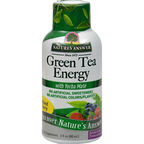 Nature's Answer Green Tea Energy Display Center Case, 12 Count