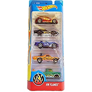 Hot Wheels, 2016 HW Flames 5-Pack
