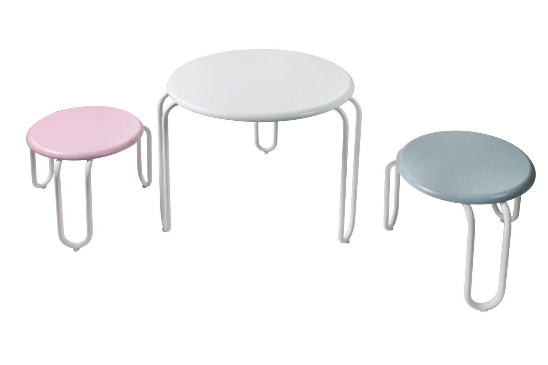 Möbel One Couture Kindersitzgruppe Tisch Hocher Kindertisch