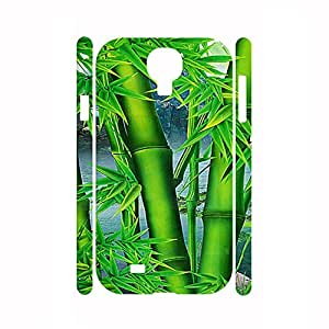 Awesome Handmade Designer Hipster Bamboo and Animal Pattern Skin for Samsung Galaxy S4 I9500 Case
