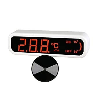 Termómetro digital electrónico para acuario de RedStar/H2-8, temperatura del tanque de