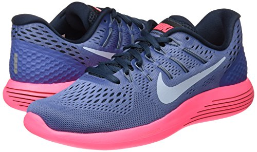 Mujer racer 8 lt Azul Blue Armory Pink De Lunarglide Zapatillas Entrenamiento blue Nike armory Moon wXn7aq544z