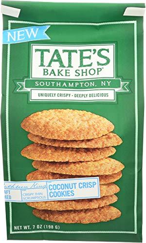 - TATES BAKE SHOP Coconut Crisp Cookies, 7 OZ