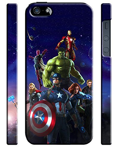 Avengers Age Of Ultron Iphone 5 5s Hard Case Cover ()