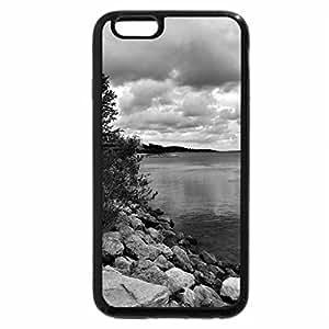 iPhone 6S Case, iPhone 6 Case (Black & White) - Autumn's coming