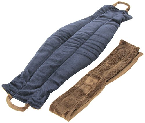 Spa Comforts Back Belt Blue and Brown
