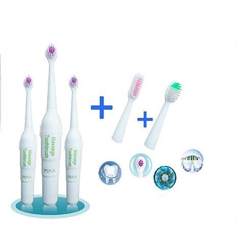 Cepillo de dientes eléctrico para cabello suave adulto niños blanqueamiento cepillo de protección dental , 3