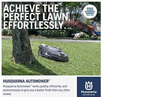 Husqvarna Automower 430XH Robotic Lawn Mower, Medium – Large Yards (0.8 Acres)