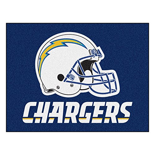 FANMATS NFL San Diego Chargers Nylon Face All-Star Rug