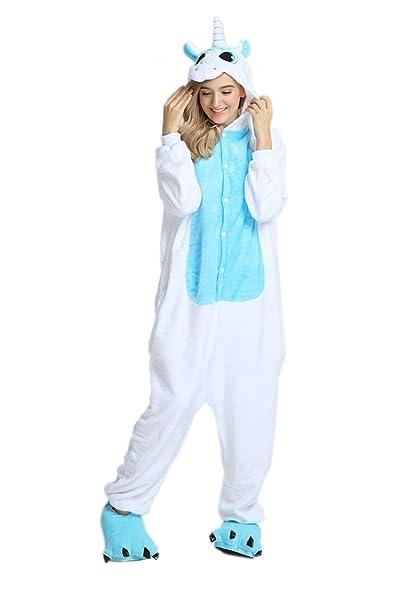Heekpek® Animales Pijamas Unisex Adulto Onesie Anime Kigurumi Trajes Disfraz Cosplay Pyjamas Ropa De Dormir