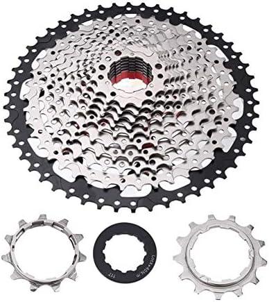 GX バイクフリーホイール超軽量12/10/12スピード32/36/42 / 46Tロードバイクマウンテンバイクフリーホイールカセットスプロケット自転車パーツ (Color : 12S)