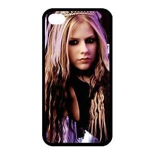 Custom Avril Back Case for iphone4,4S JN4S-153