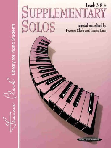 (Supplementary Solos Levels 3-4 (Frances Clark Library)